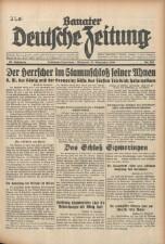 Banater Deutsche Zeitung