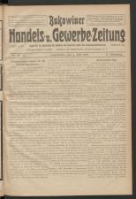 Bukowiner Genossenschafts- und Vereins-Zeitung (Handel und Gewerbe).