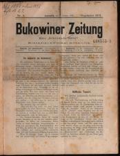 Bukowiner Zeitung