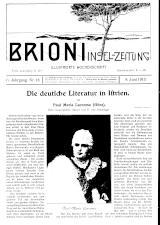 Brioni Insel-Zeitung
