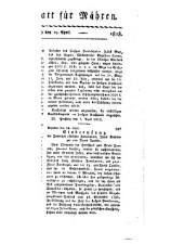 Brünner Zeitung der k.k. priv. mähr. Lehenbank