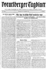 Bregenzer/Vorarlberger Tagblatt 19381119 Seite: 1