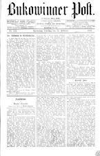 Bukowinaer Post