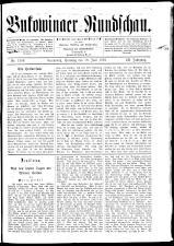 Bukowinaer Rundschau 18930618 Seite: 1
