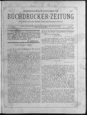 Buchdrucker-Zeitung 18930105 Seite: 1