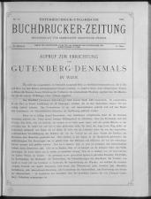 Buchdrucker-Zeitung 18930330 Seite: 1
