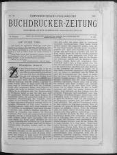 Buchdrucker-Zeitung 18930518 Seite: 1