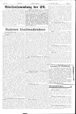 Badener Zeitung 19381119 Seite: 3