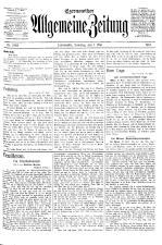 Czernowitzer Allgemeine Zeitung