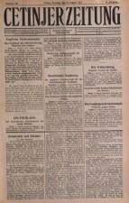 Cetinjer Zeitung 19170812 Seite: 1