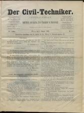 Der Civiltechniker 18930101 Seite: 1