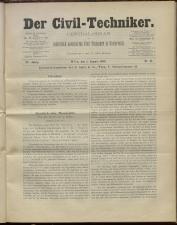 Der Civiltechniker 18930801 Seite: 1