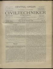 Der Civiltechniker