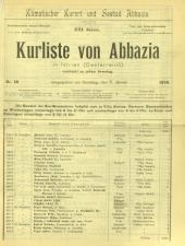 Curliste von Abbazia