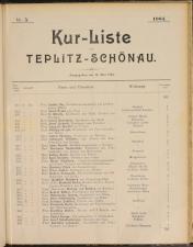 Cur-Liste von Teplitz-Schönau
