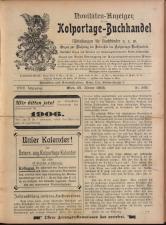 Novitäten-Anzeiger für den Colportage Buchhandel
