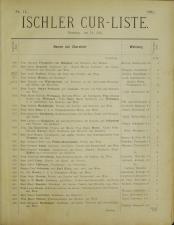 Ischler Bade-Liste
