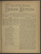 Christliche Wiener Frauen-Zeitung