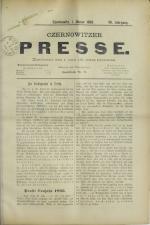 Czernowitzer Presse 18930101 Seite: 1