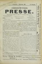 Czernowitzer Presse