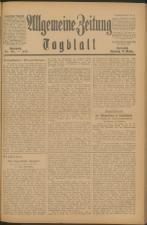 Czernowitzer Tagblatt 19190118 Seite: 1