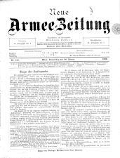 Danzers Armee-Zeitung 18990126 Seite: 1