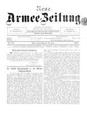 Danzers Armee-Zeitung 18990629 Seite: 1