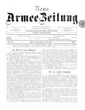 Danzers Armee-Zeitung 18990713 Seite: 1