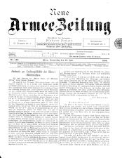 Danzers Armee-Zeitung 18990727 Seite: 1