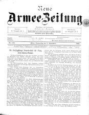 Danzers Armee-Zeitung 18990907 Seite: 1
