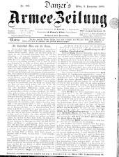 Danzers Armee-Zeitung 18991103 Seite: 1