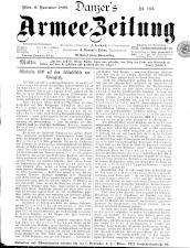Danzers Armee-Zeitung 18991109 Seite: 1
