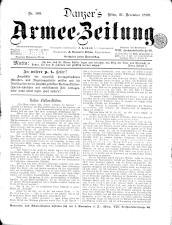 Danzers Armee-Zeitung 18991221 Seite: 1