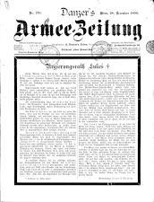 Danzers Armee-Zeitung 18991228 Seite: 1