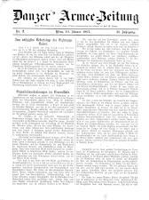 Danzers Armee-Zeitung 19070110 Seite: 1