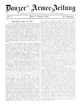 Danzers Armee-Zeitung 19070207 Seite: 1