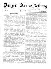 Danzers Armee-Zeitung 19070404 Seite: 1