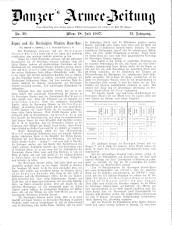 Danzers Armee-Zeitung 19070718 Seite: 1