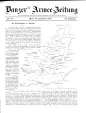 Danzers Armee-Zeitung 19070919 Seite: 1