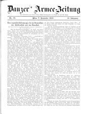 Danzers Armee-Zeitung 19071107 Seite: 1
