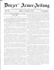 Danzers Armee-Zeitung 19071114 Seite: 1