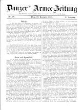 Danzers Armee-Zeitung 19071128 Seite: 1