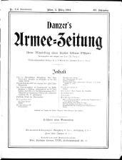 Danzers Armee-Zeitung 19140305 Seite: 1