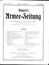 Danzers Armee-Zeitung 19140312 Seite: 1