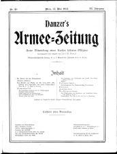 Danzers Armee-Zeitung 19140514 Seite: 1