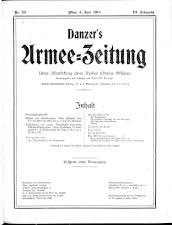 Danzers Armee-Zeitung 19140604 Seite: 1