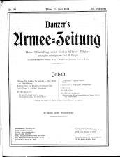Danzers Armee-Zeitung 19140611 Seite: 1