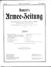 Danzers Armee-Zeitung 19140618 Seite: 1
