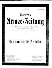 Danzers Armee-Zeitung 19140709 Seite: 1