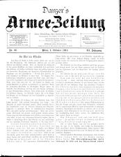 Danzers Armee-Zeitung 19141001 Seite: 1